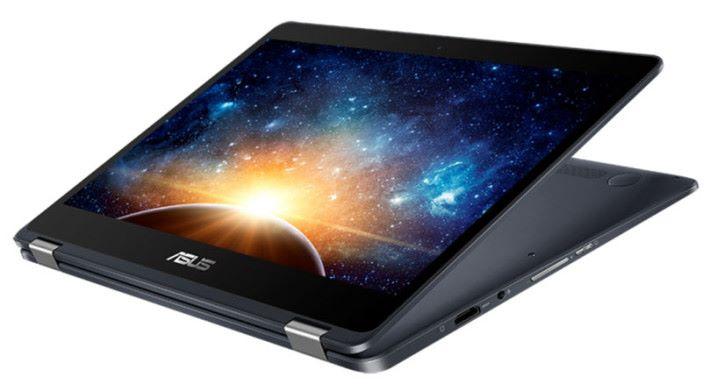 翻轉屏幕可作平板使用,並支援感壓筆。