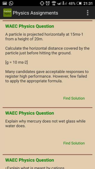 Physics Formula 令用家清晰了解課題中的重要方程。
