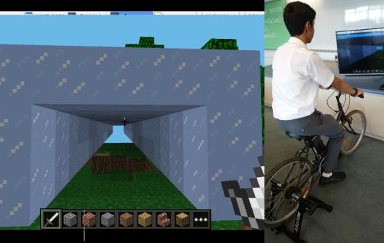 單車控制 MINECRAFT (二)