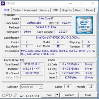 使用其 380 BCLK OC Profile 可成功開機,BCLK 外頻接近極限。