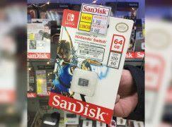 【場料】 Switch 專用? SanDisk 出任天堂記憶卡