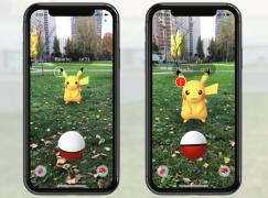 iOS 版《Pokemon Go》新加 AR+ 功能