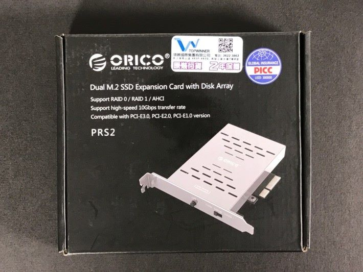 這款 PRS2 內置式硬碟盒,支援 RAID 0/RAID 1 及 AHCI 工作模式,最高支援 10Gbps 高速傳輸