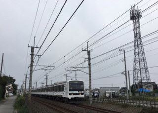 KDDI 利用 JR 東日本本線線路的測試列車「MUE-Train」進行實驗。