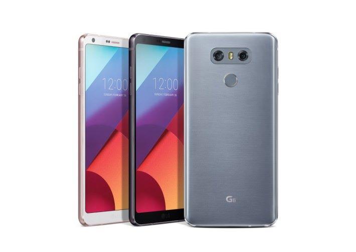 採用 Full Vision 屏幕設計的 G6,因為使用舊有 S821處理器,所以銷量反而不及規格接近的 V20