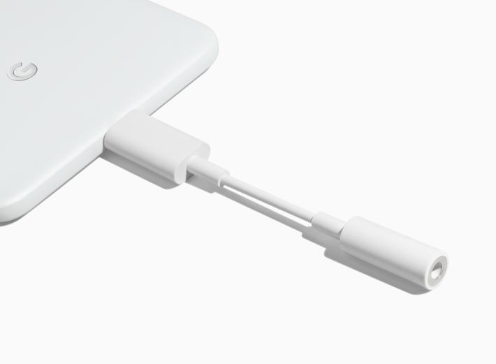 要使用 USB Type-C 轉 3.5mm 耳機的轉換器來使用傳統耳機。