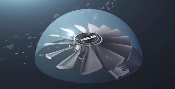 散熱風扇具備 IPX5 防塵功能。