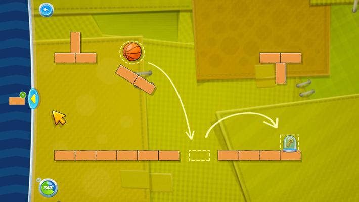遊戲目標就是把球運送到指定地點。