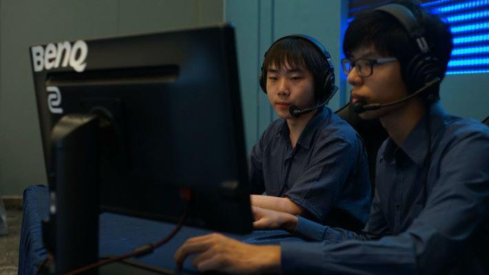 訓練及參賽後,有同學發現原來最有興趣是擔任主播。