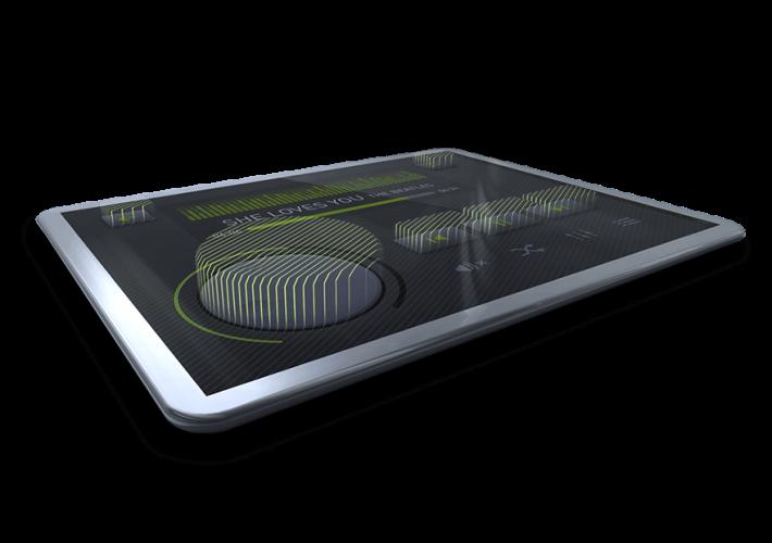 觸覺回饋可以在用戶觸踫屏幕時產生不同的質感