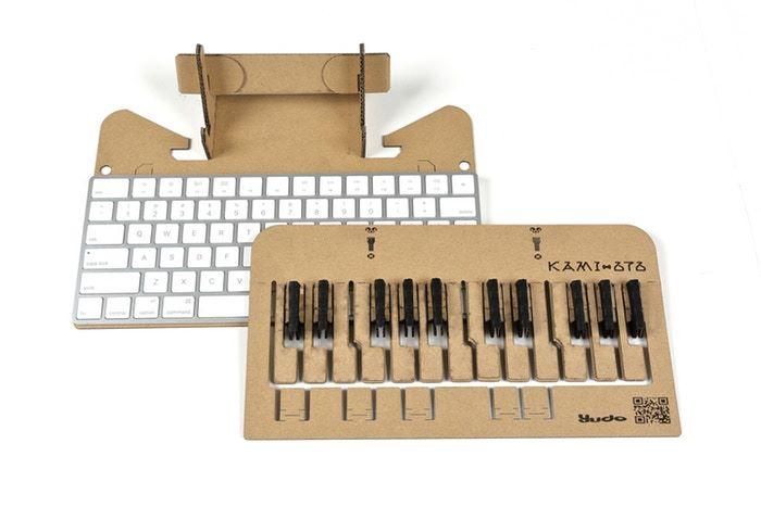 元祖版本的琴鍵是配合 Apple Magic Keyboard 使用的