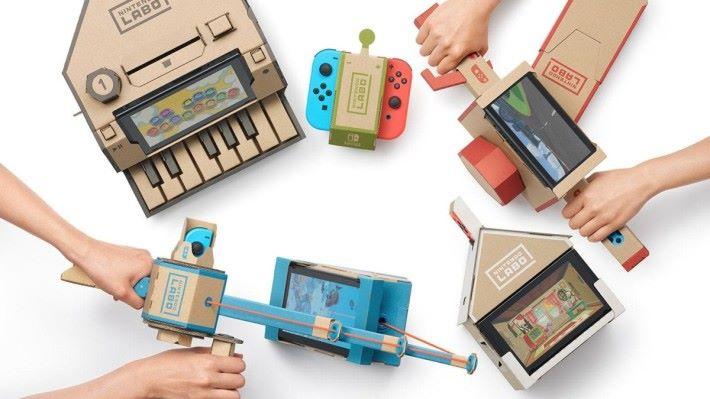 Nintendo Labo 令 Nintendo Switch 再一次突破傳統遊戲的框框