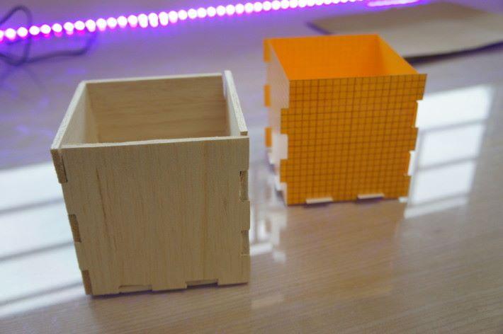 六年級習作會製作感恩盒,當中還會學習榫的運用,絕對是實用貼地的學習。