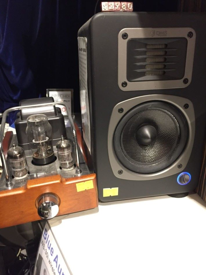 Dared SL-2000-A 膽前級擴音機+QMS Q4有源喇叭