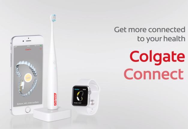 高露潔推出 E1 智能牙刷 手機 App 分析刷牙潔淨情況