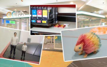 OC STEM Lab 引進座枱全彩 PLA 噴墨 3D 打印機