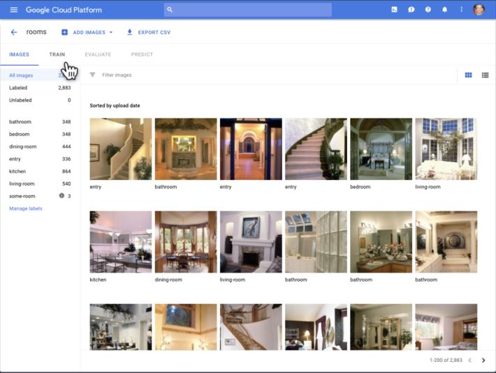 Google 建議每個物件標籤上傳最少 100 張圖片作訓練。