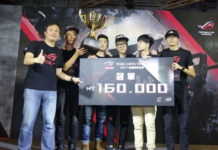 而於上年度舉辦的「 ROG Masters 《 CS:GO 》」港台區決賽,冠軍則得到 100,000 新台幣(約 $40,600 港幣)
