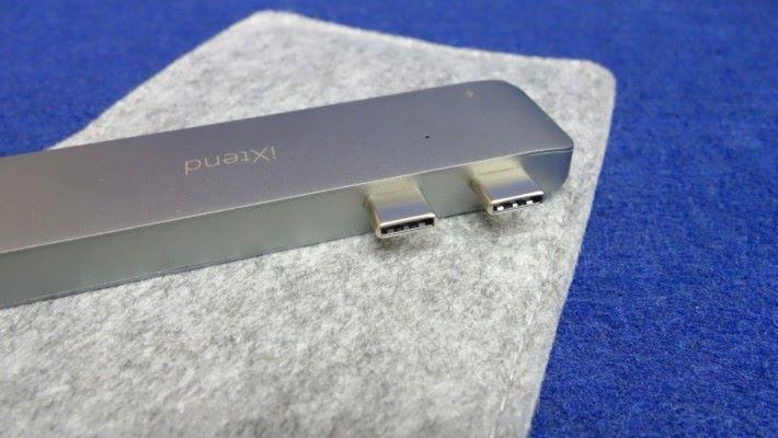 採用雙 USB Type-C 插口的設計