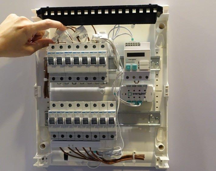 電源消耗監測