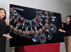 LG 88吋 8K OLED 電視 CES 登場