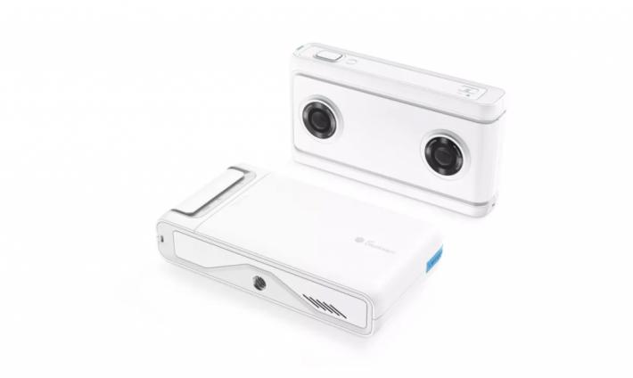 Lenovo Mirage Camera 的背面沒有屏幕。