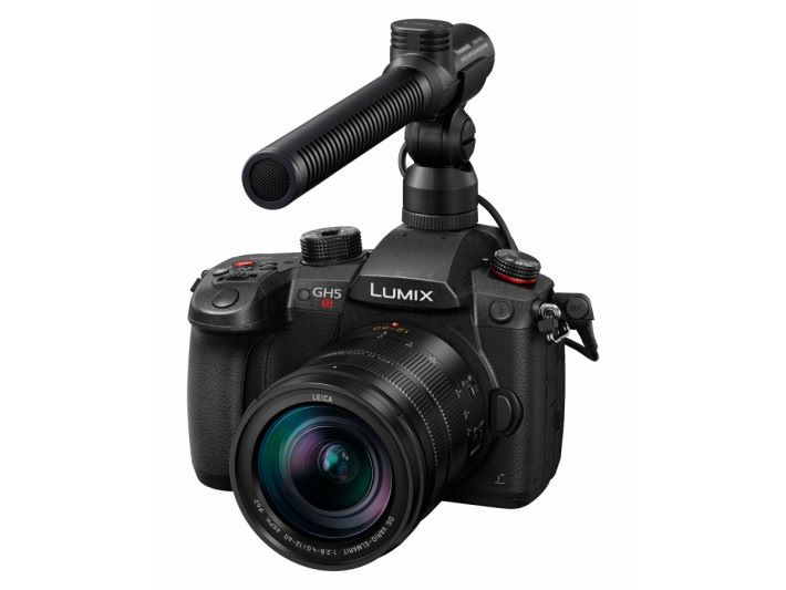 既然GH5 以攝錄為主,就少不了外置咪這些專業的攝錄器材。