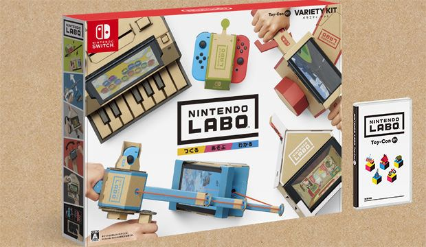 Nintendo Labo Toy-con01 VARIETY KIT