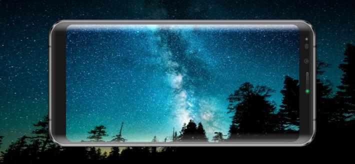 18:9 超窄邊框屏幕。