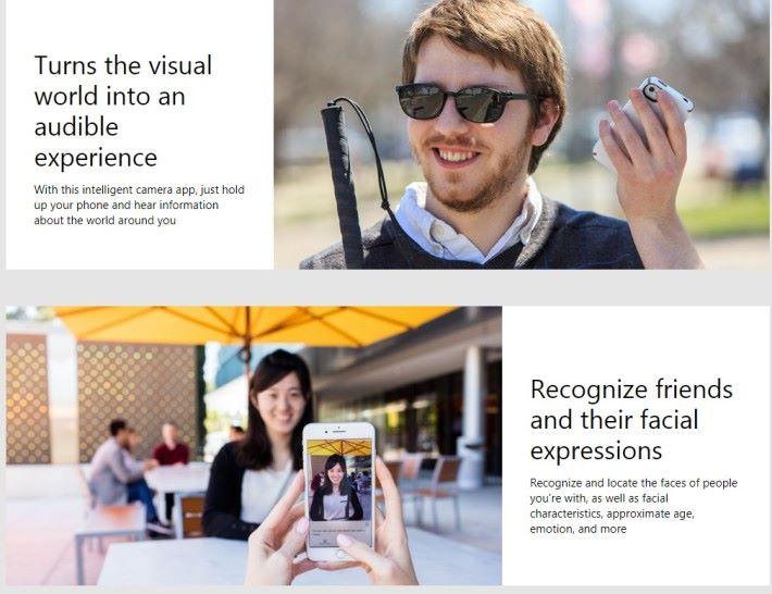 「 Seeing AI 」能夠成為盲人的「第三隻眼」,將「見到」的東西以語音描述出來。