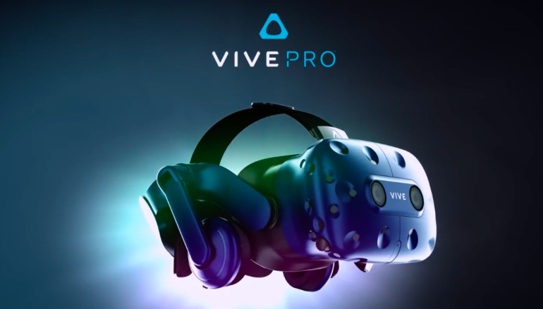 【CES 2018】解像度升級 「Pro」版 HTC Vive 上場