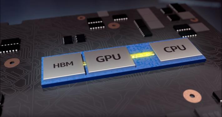 據之前的新聞稿,這批處理器會以嶄新的 EMIB 技術連接 Vega GPU 及其 HBM2 記憶體。