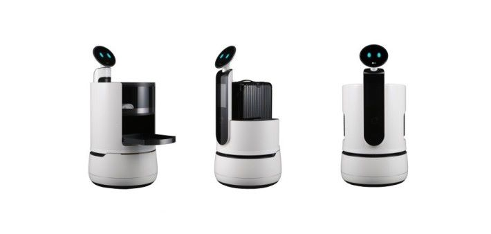 LG 推出針對不同企業使用的商用機械人助理。