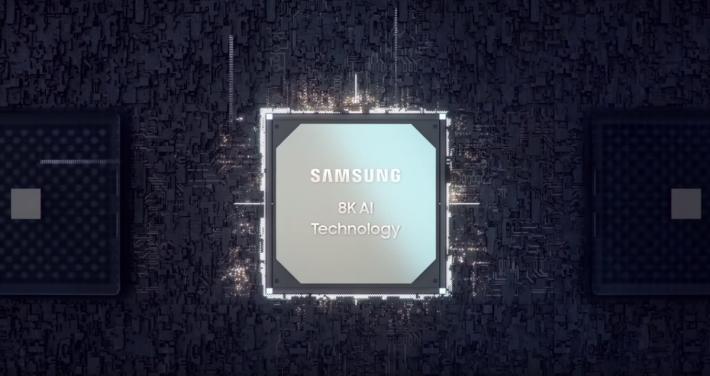 電視內有 AI 晶片。