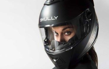 【CES 2018】鐵騎士專用 SKULLY FENIX AR 智能頭盔