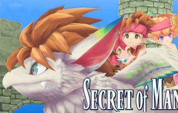 【PS4 / PSV 】《聖劍傳說 2 Secret of Mana 》 2 月 15日推出 即日開放預購
