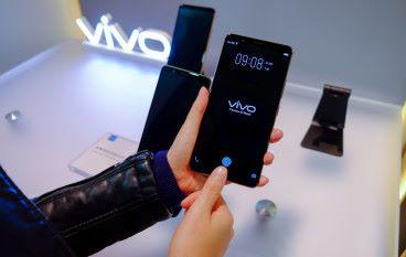 【CES 2018】Vivo 展出全球首款可量產的屏幕指紋手機