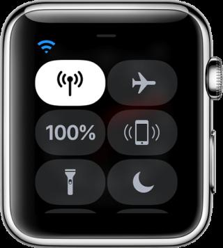 連接身邊手機或曾經連接過的 Wi-Fi 上網時,流動網絡按鈕會變成白色。而左上角的圖示就會因應使用手機還是 Wi-Fi 而有所不同。