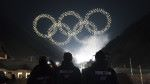 The Intel drone light show team produces the Olympic Winter Games PyeongChang 2018 Opening Ceremony drone light show, featuring Intel Shooting Star drones. Intel is providing drone technology at the Olympic Winter Games in South Korea. (Credit: Intel Corporation)