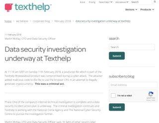 Texthelp 已經暫停有關的服務以清除惡意軟件