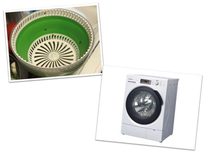 日常生活中的洗菜器、洗衣機、乾衣機及離心分離器也應用了棉花糖製造機旋轉運動帶來的習性運動原理。