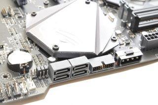提供四個 SATA 6Gbps 連接埠。