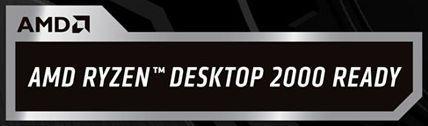 大部分新貨會在包裝盒貼上「AMD Ryzen Desktop 2000 Ready」貼紙。
