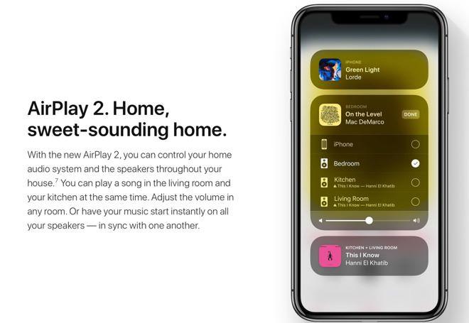 為配合 HomePod 而推出的 AirPlay 2 將不會在 iOS 11.3 中推出。