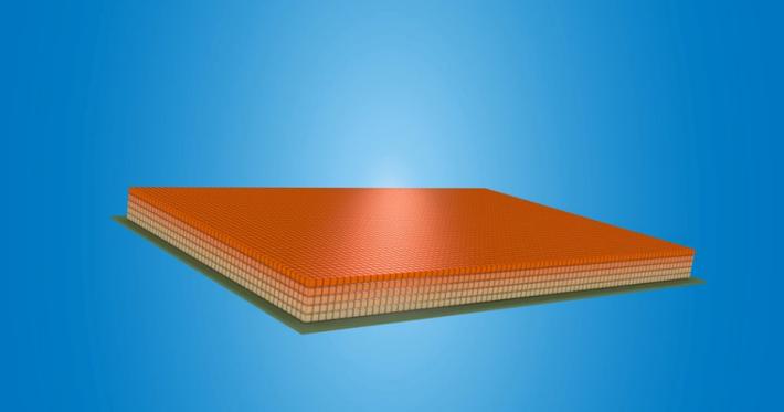 3D NAND 就像蓋高樓大廈,一層一層把 NAND Flash 堆疊。Source:Intel