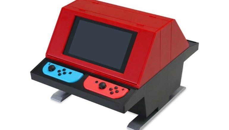 將 Switch 變身做街機 ?