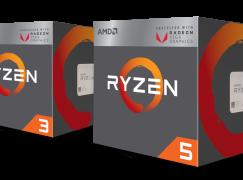 AMD 將加推低功耗版 APU Ryzen 5 2400GE 及 Ryzen 3 2200GE