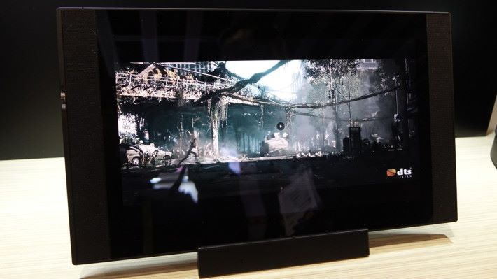 ONKYO GRANBEAT Hi-Res Tablet,目標定位是家庭娛樂中心。