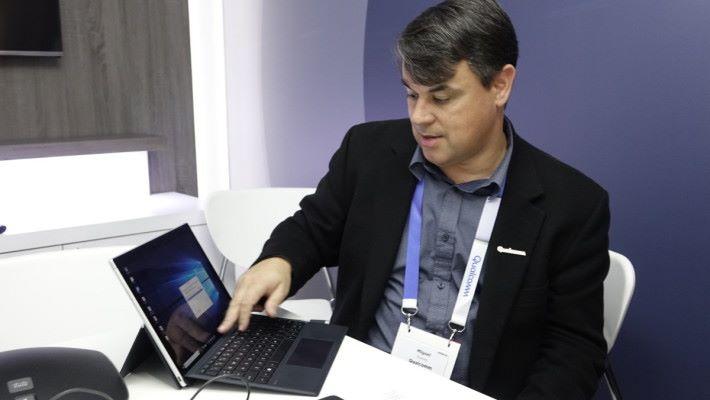 Miguel Nunes 稱,Intel 在手提電腦加入 5G 數據機,間接認同 Snapdragon 手提電腦的隨時連線賣點。