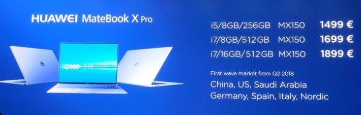 最入門的 i5 版本也要 $1499 歐羅
